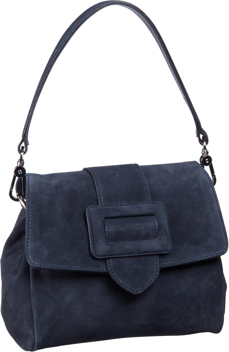 Handtasche Suede 28423 Navy