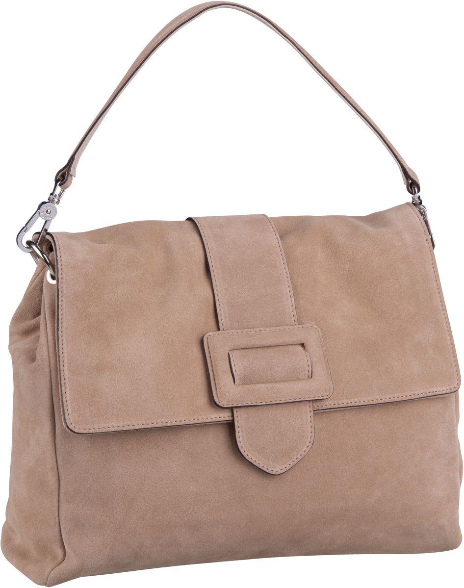 Handtasche Suede 28424 Natural