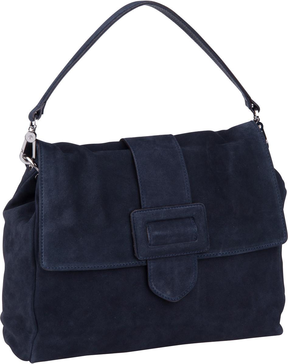 Handtasche Suede 28424 Navy