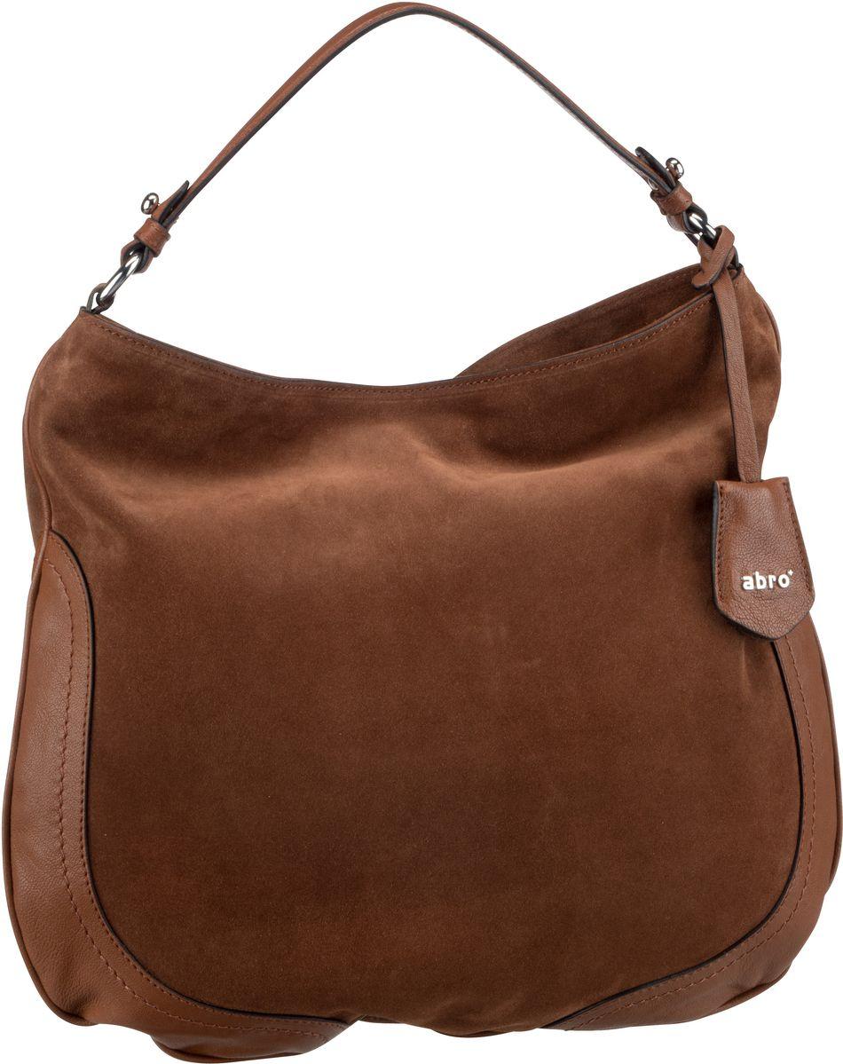 Handtasche Suede 28392 Cognac