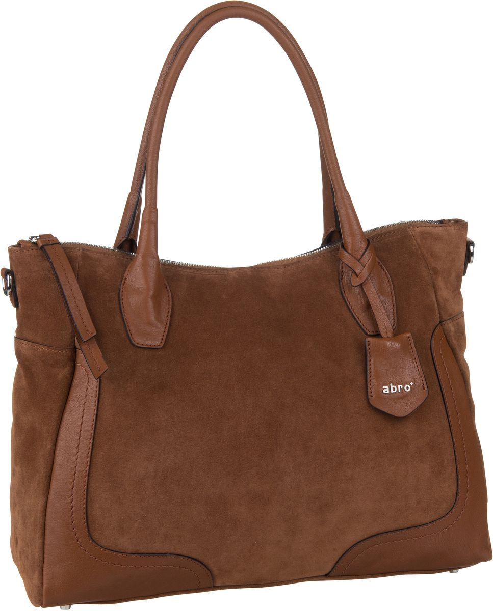 Shopper Suede 28391 Cognac