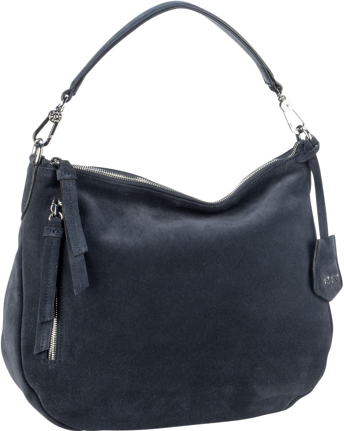 Handtasche Suede 28623 Navy