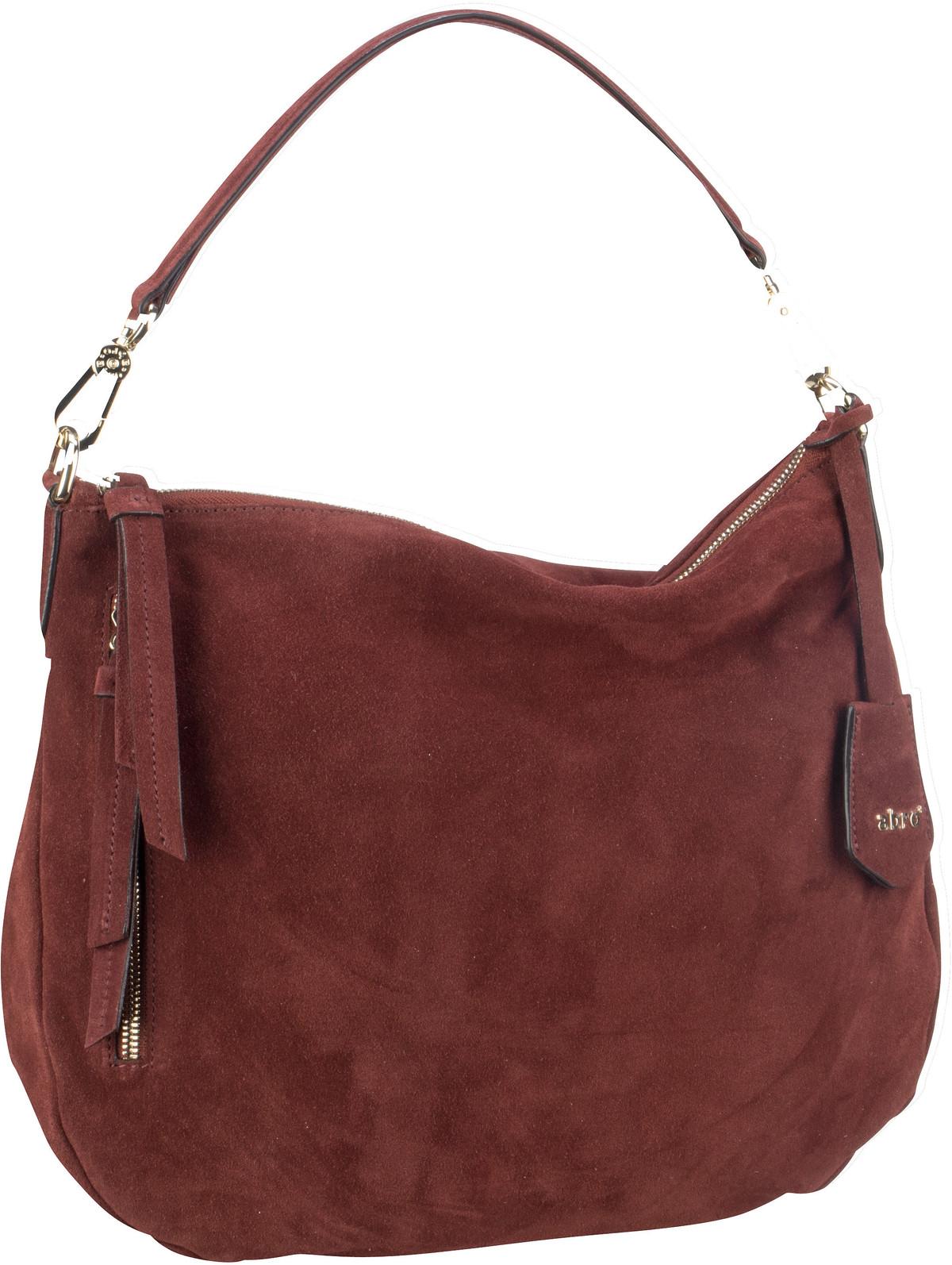 Handtasche Suede 28623 Rust