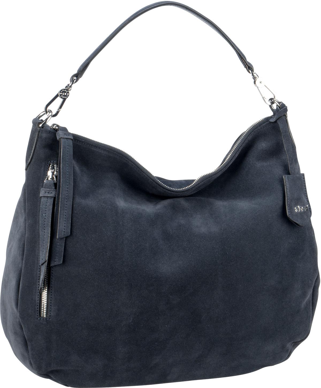 Handtasche Suede 28624 Navy