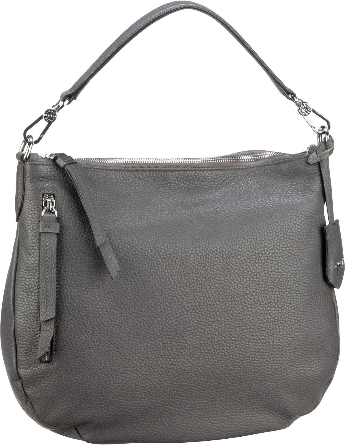 Handtasche Calf Adria 28623 Dark Grey