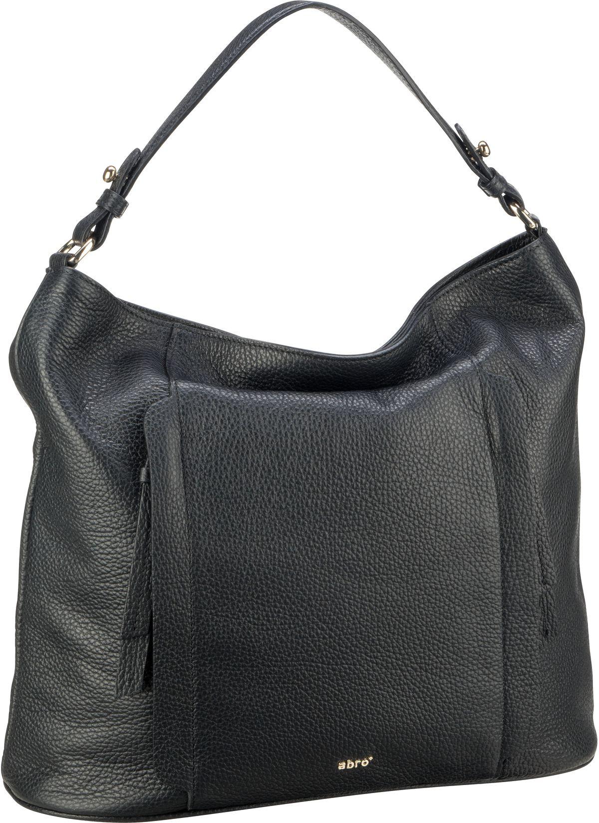 Handtasche Calf Adria 28628 Black