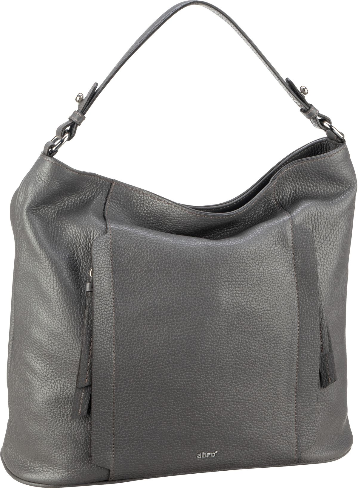 Handtasche Calf Adria 28628 Dark Grey