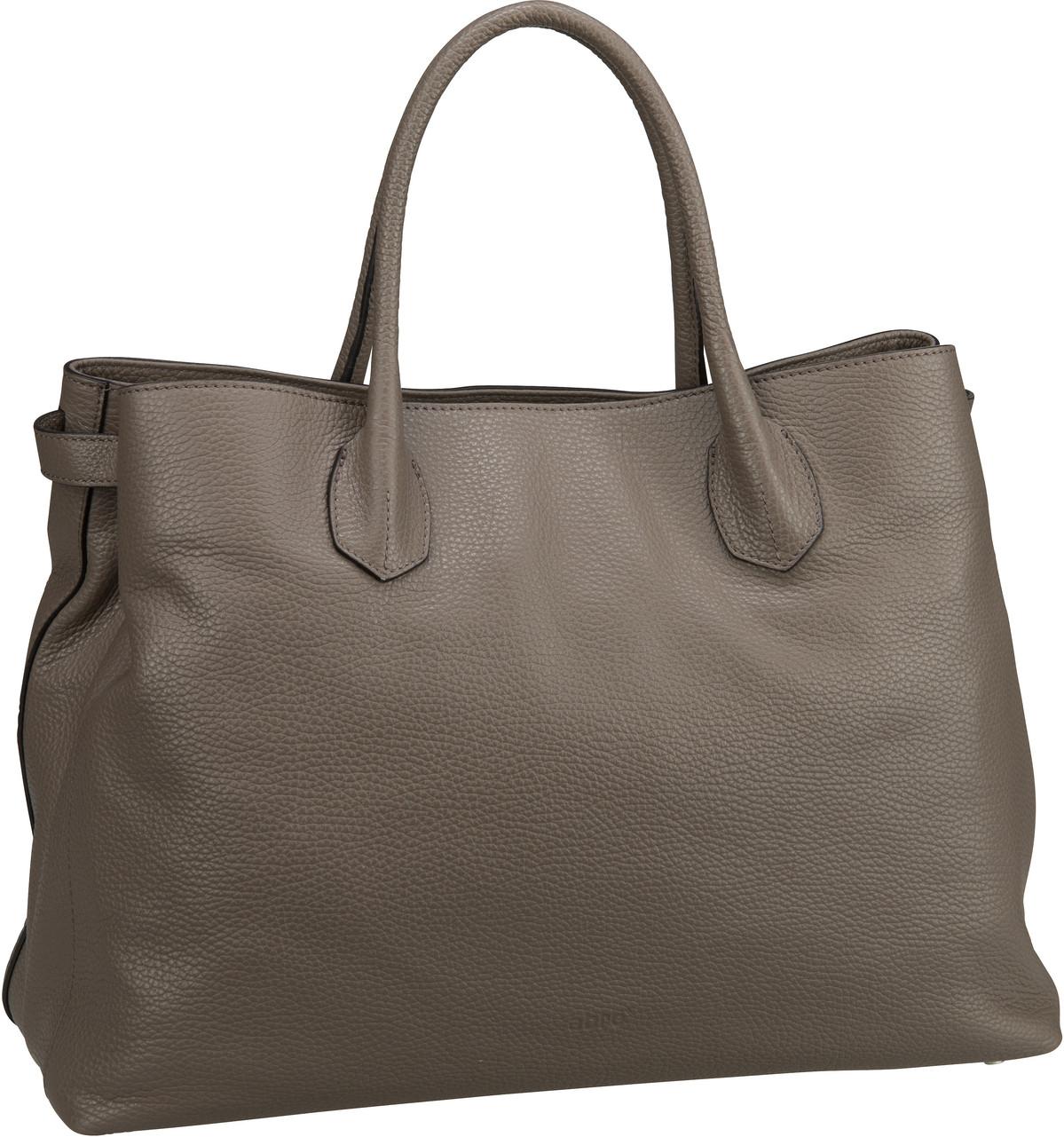 Handtasche Calf Adria 28602 Taupe