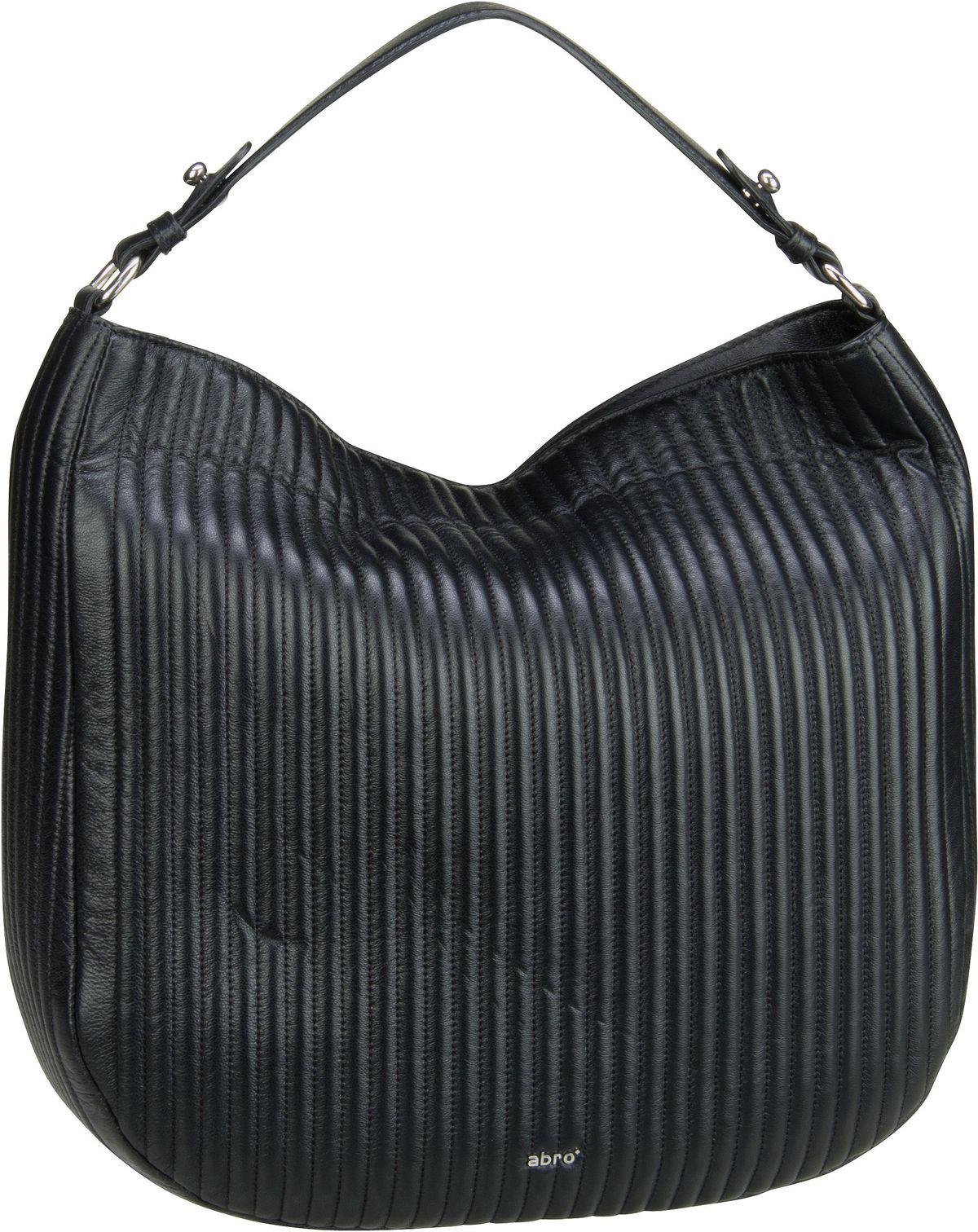 Handtasche Nappa Trappunta 28653 Black/Nickel