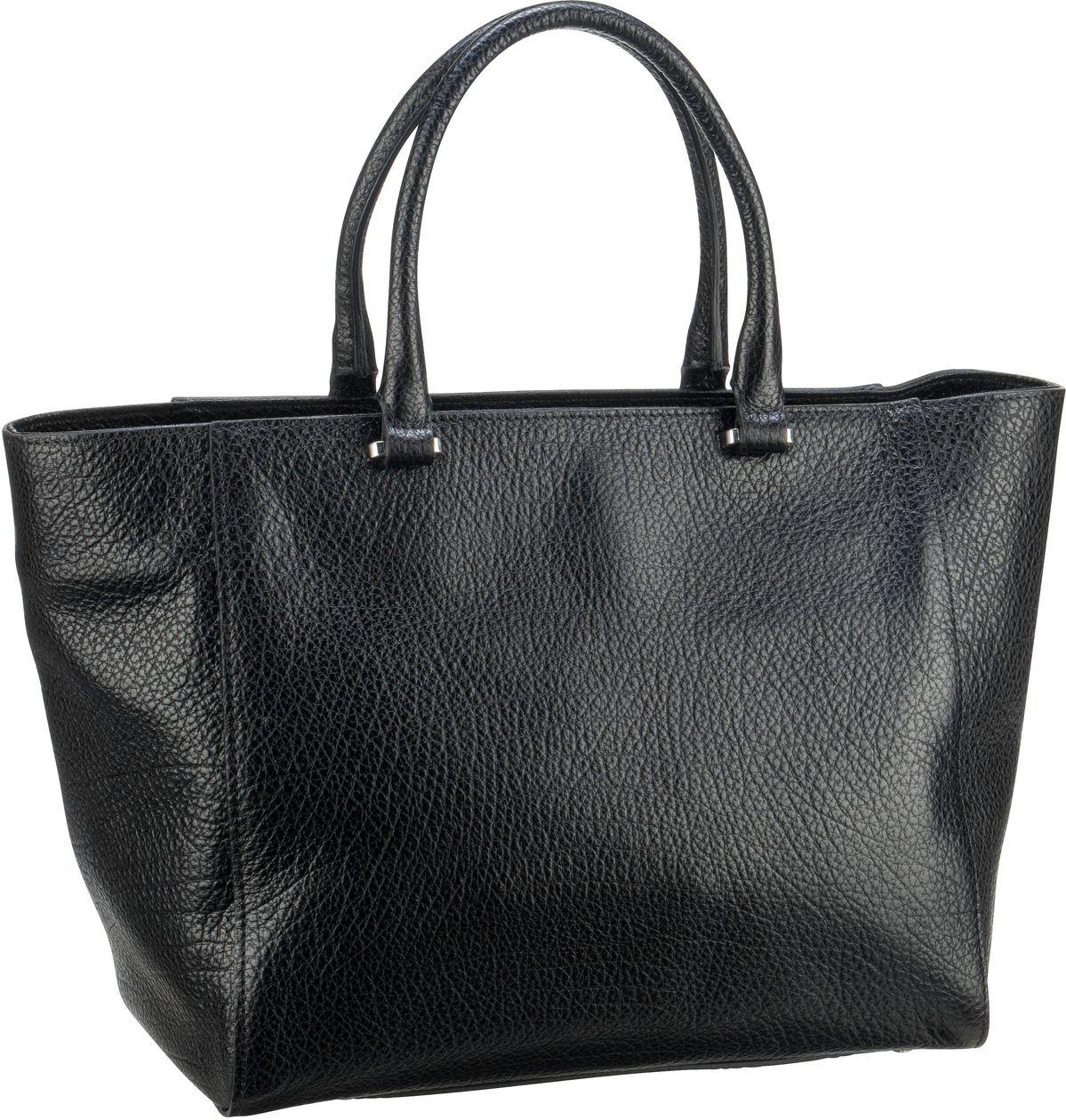 Shopper für Frauen - abro Shopper Babilonia 28643 Black Nickel  - Onlineshop Taschenkaufhaus