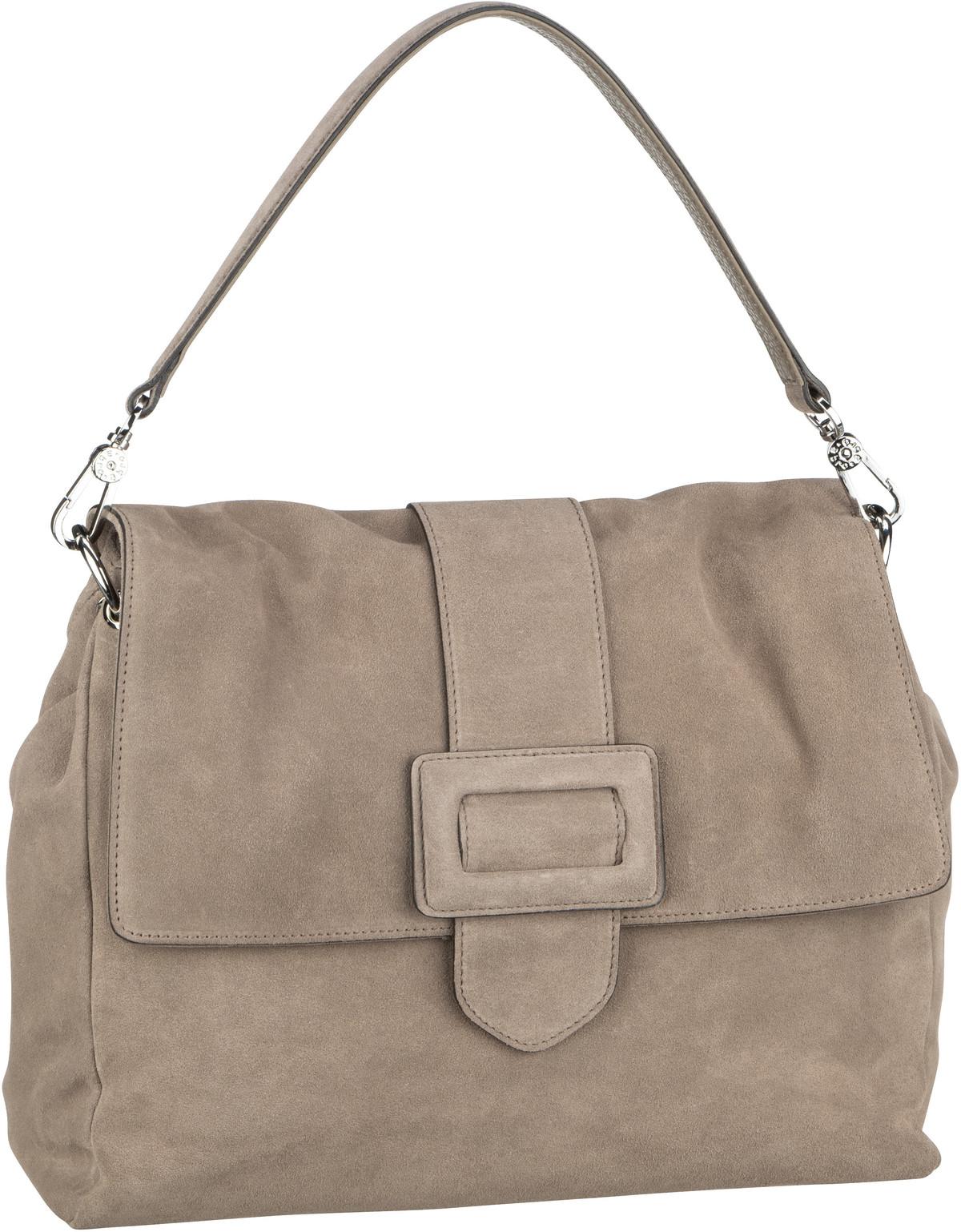 Handtasche Suede 28612 Taupe