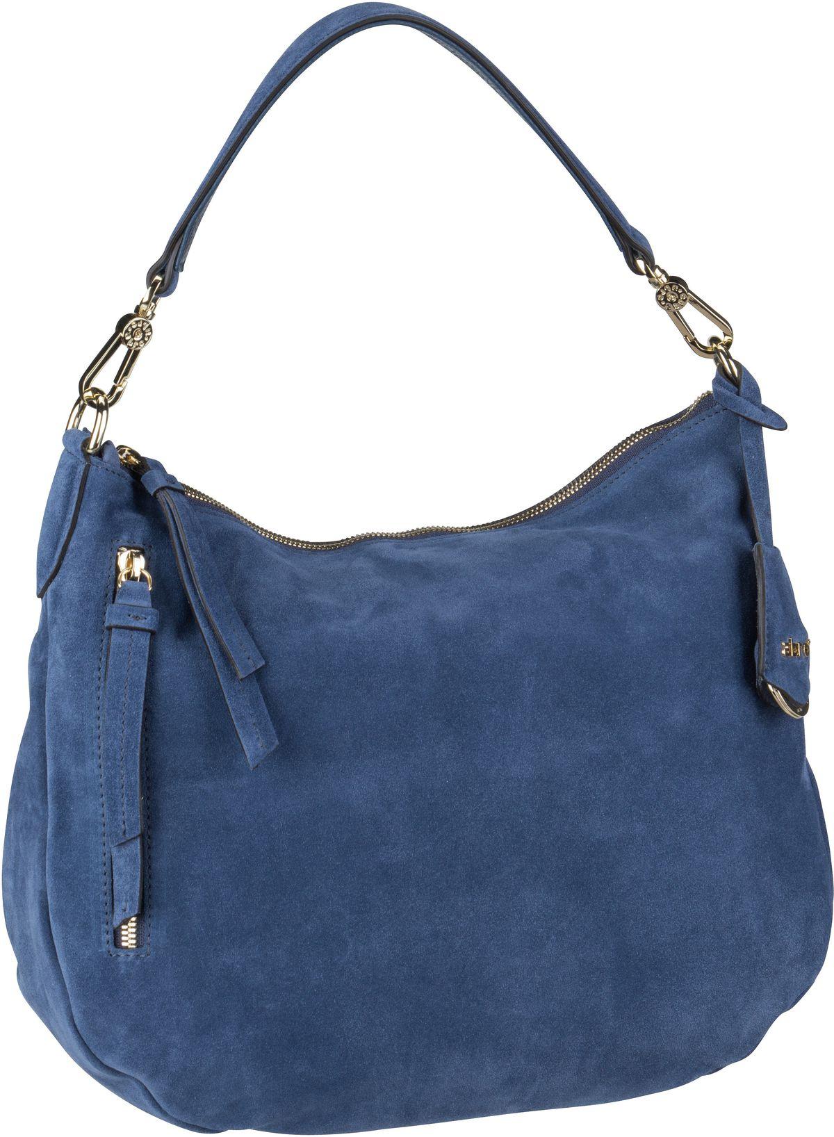 Handtasche Juna 28825 Suede Blueberry