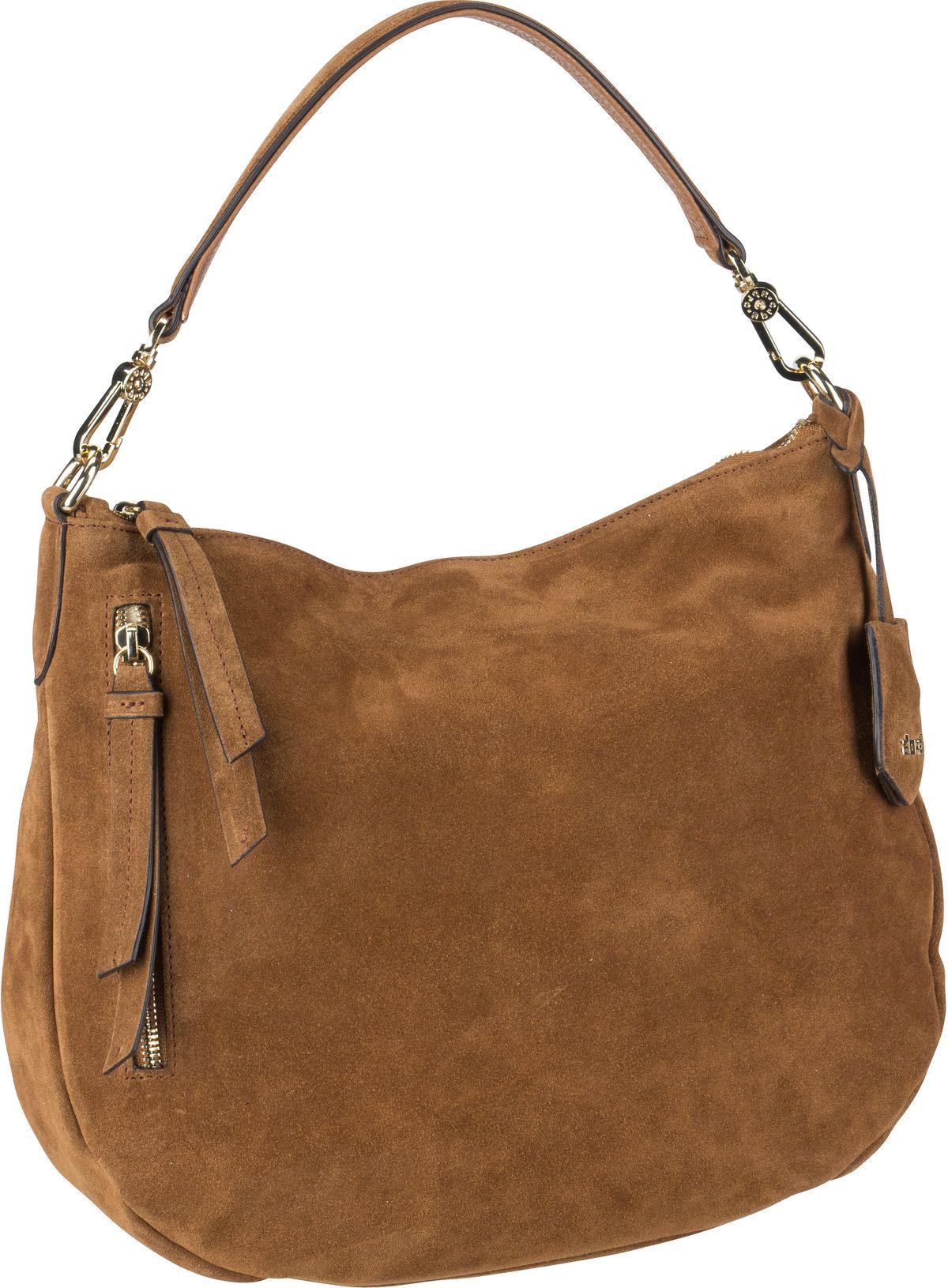 Handtasche Juna 28825 Suede Cuoio