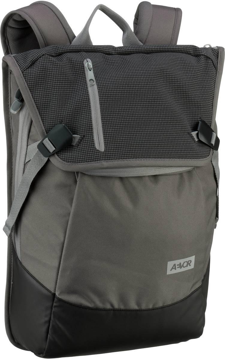 AEVOR Laptoprucksack Daypack Echo Black (18 Liter)
