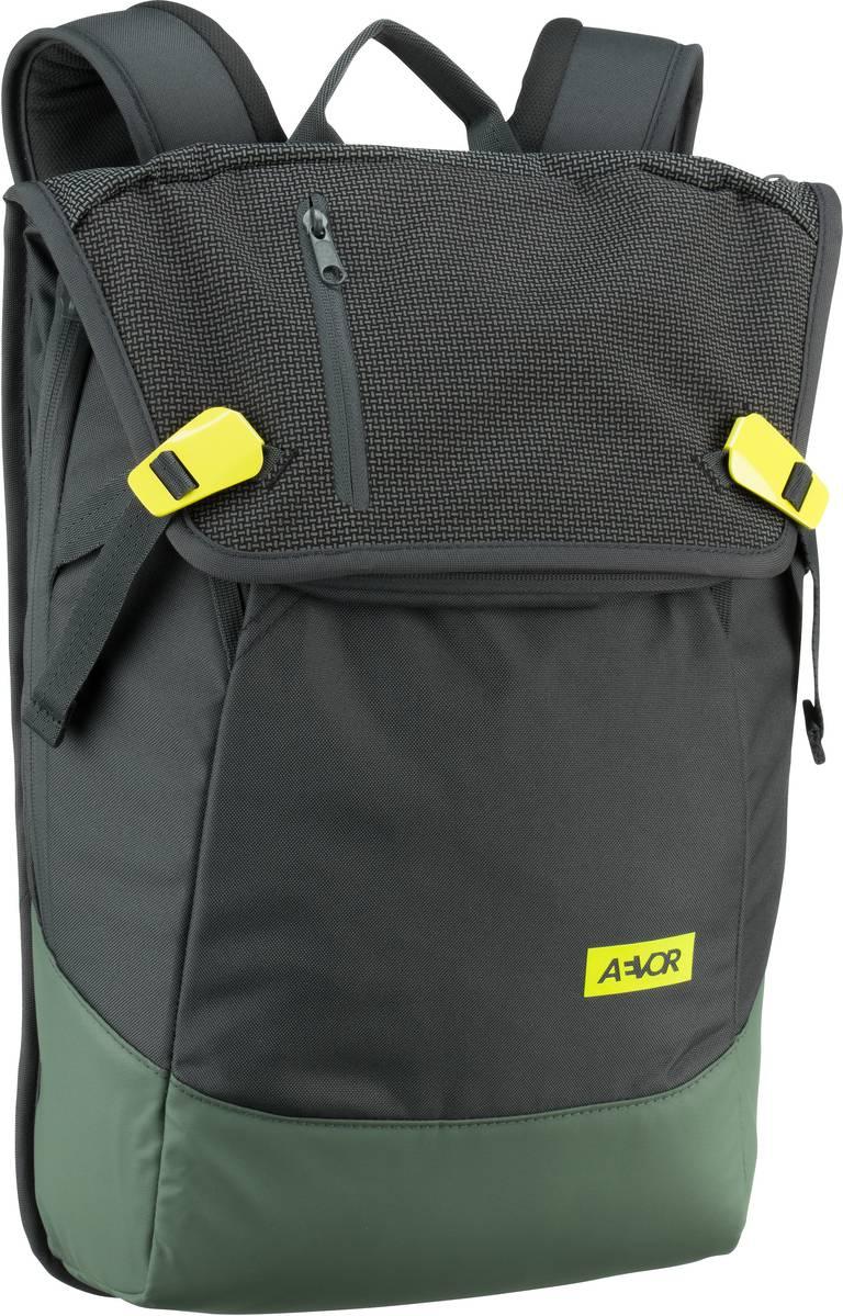 AEVOR Laptoprucksack Daypack Echo Green (18 Liter)