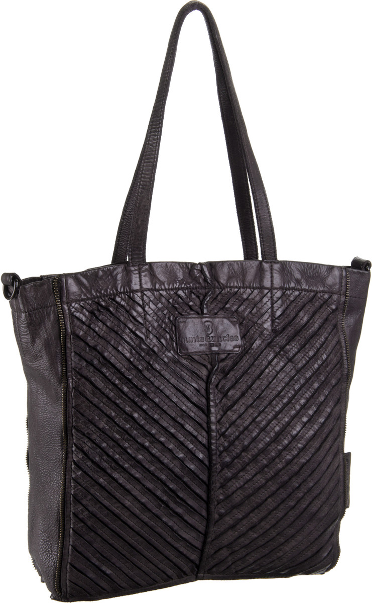 aunts & uncles Roxanne V-Stripes Espresso - Handtasche Sale Angebote Guben
