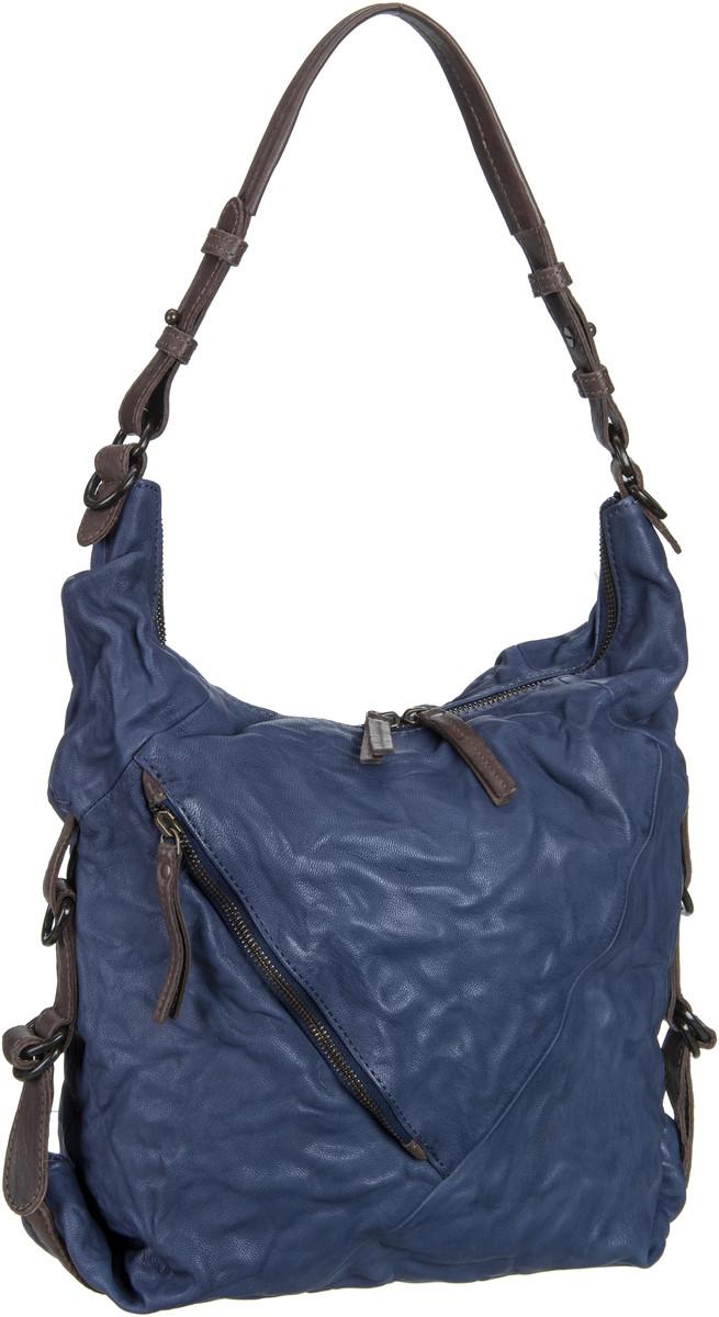 Handtasche Chummy Velvet Blue
