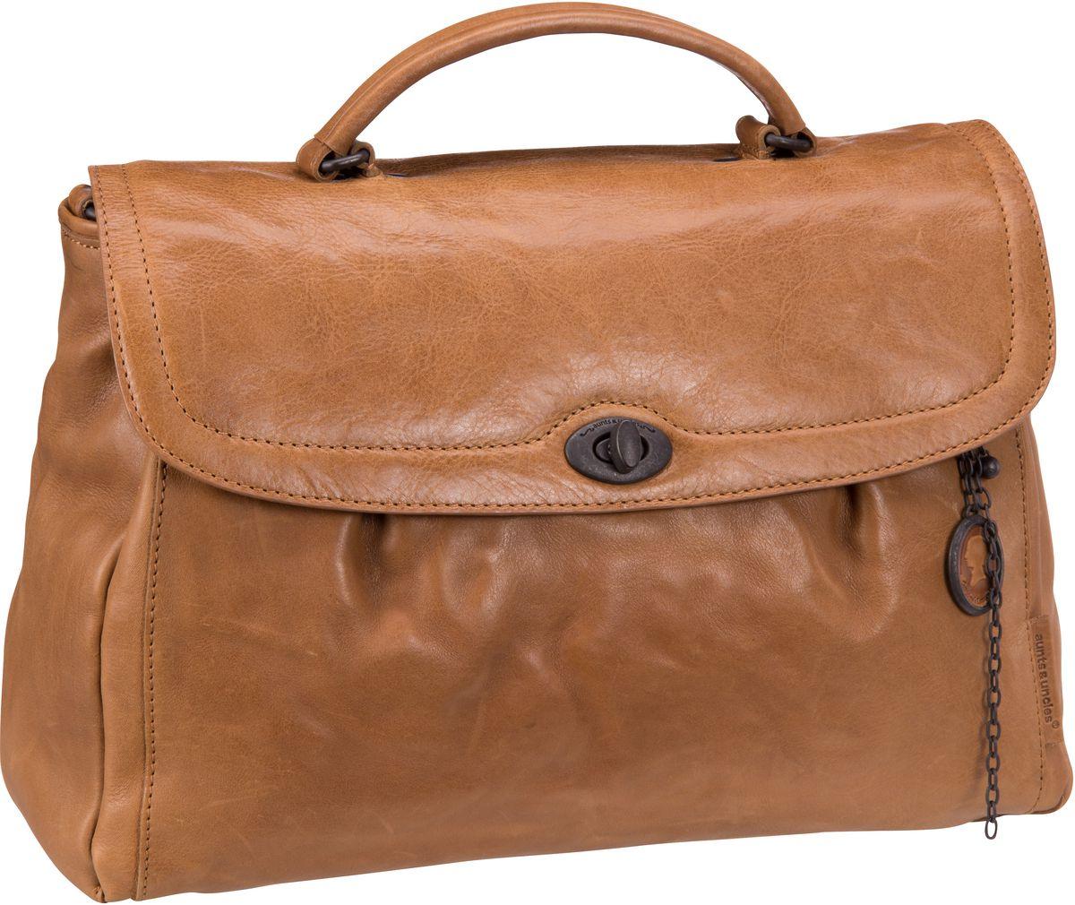 Businesstaschen für Frauen - aunts uncles Aktentasche Mrs. Velvet Pie Caramel  - Onlineshop Taschenkaufhaus