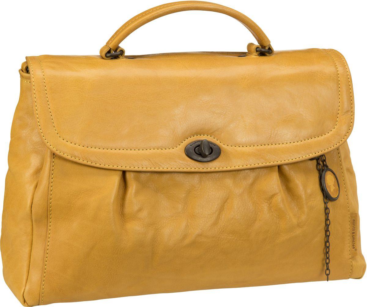 Businesstaschen für Frauen - aunts uncles Mrs. Velvet Pie Lemoncurry Aktentasche  - Onlineshop Taschenkaufhaus