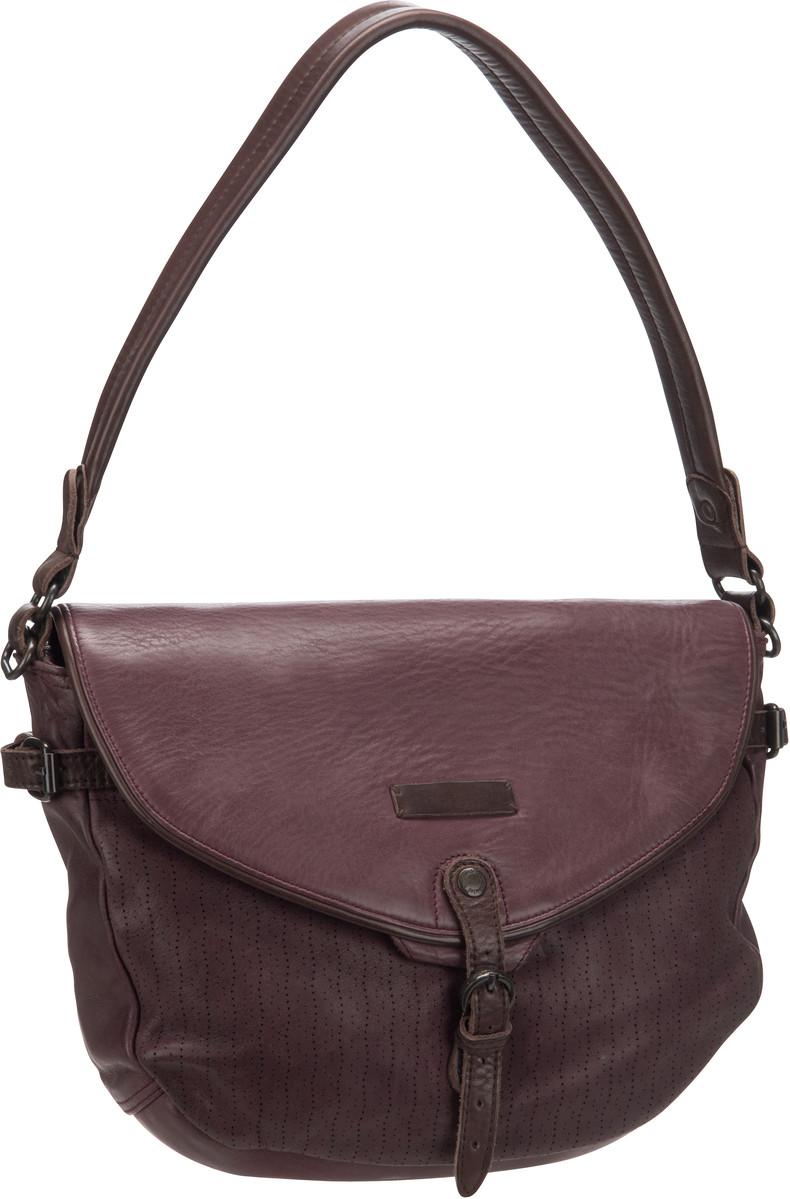 Handtaschen für Frauen - aunts uncles Handtasche Melody Dots Red Plum  - Onlineshop Taschenkaufhaus