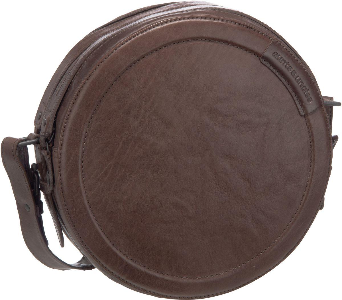 Schultertaschen für Frauen - aunts uncles Umhängetasche Mrs. Lava Cake Plum Truffle  - Onlineshop Taschenkaufhaus