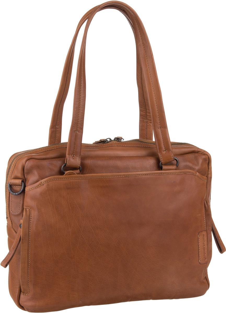 Handtasche Jackfruit Cognac