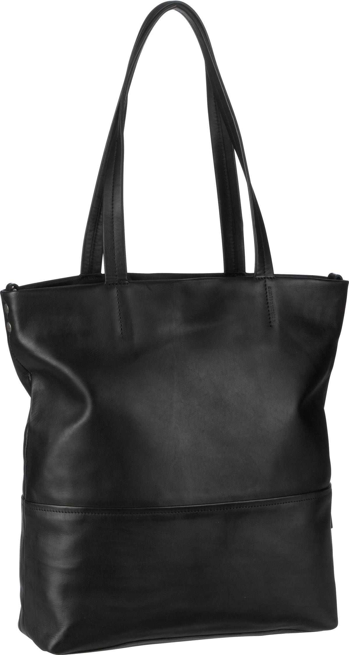 Handtasche Kiwano Jet Black