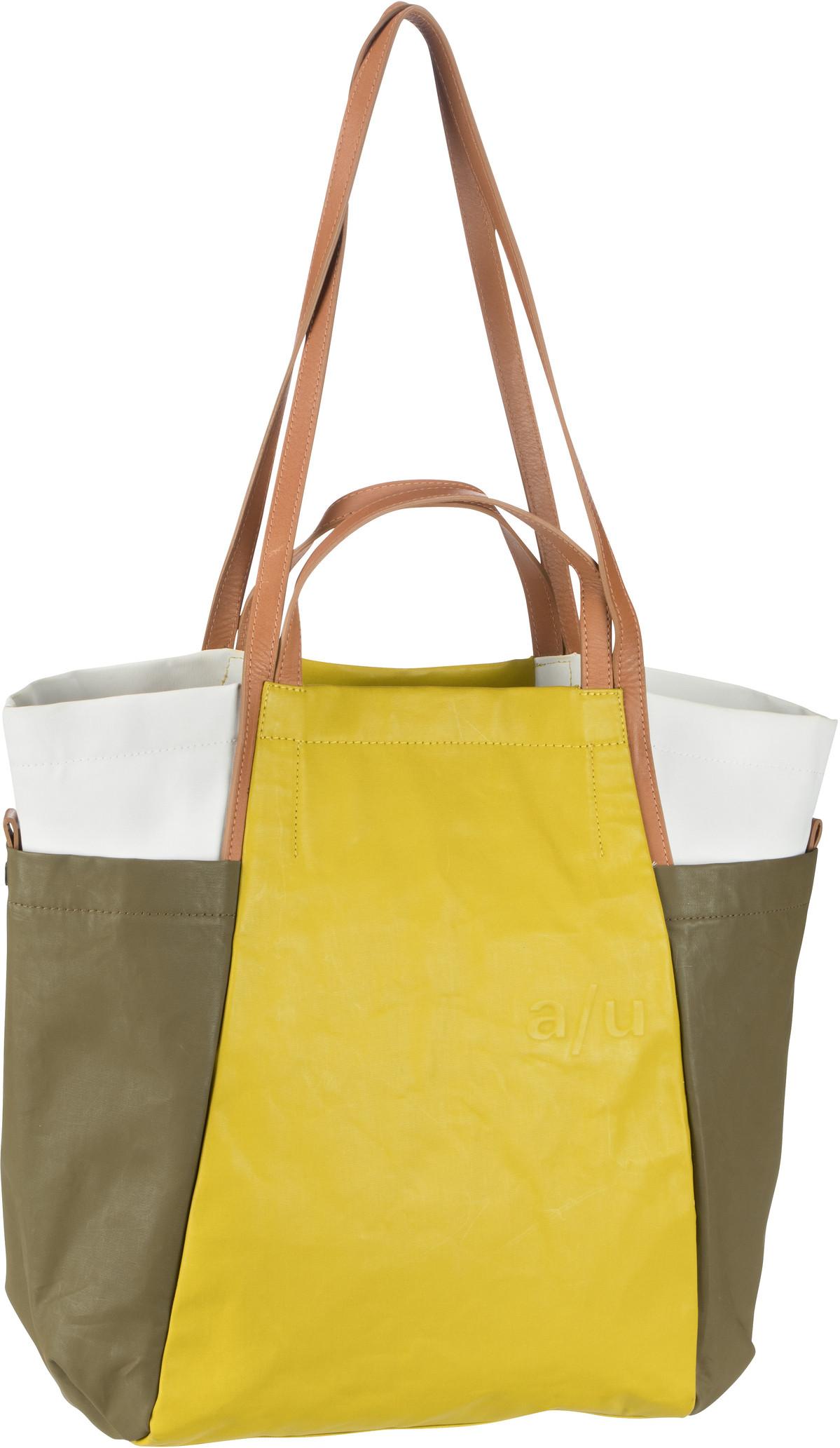 aunts & uncles -  Handtasche Takamatsu Olive/Golden Verde