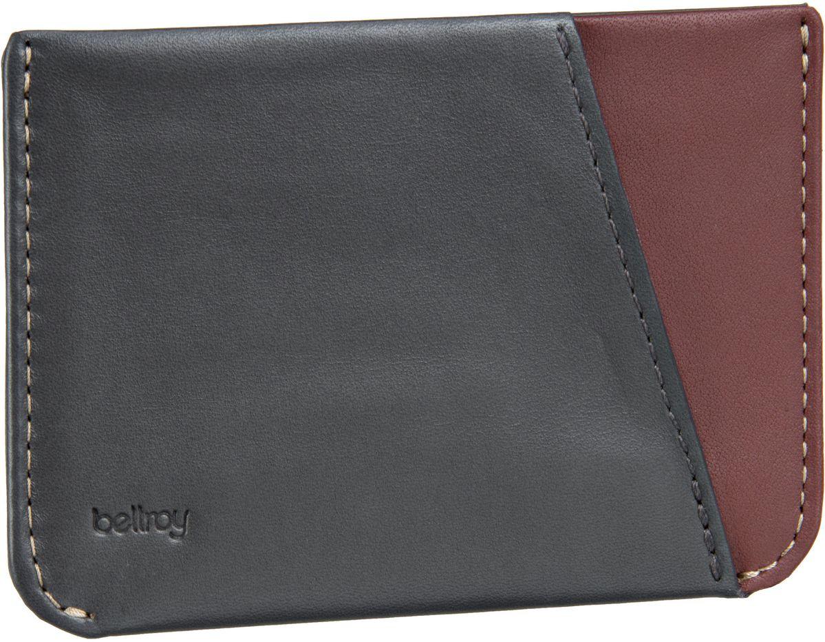 Bellroy Micro Sleeve Charcoal - Kreditkartenetui - broschei