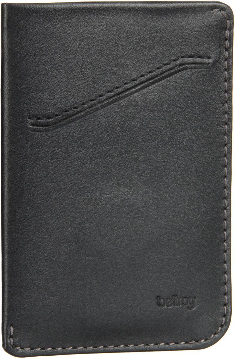 Bellroy Card Sleeve Black - Kreditkartenetui - broschei