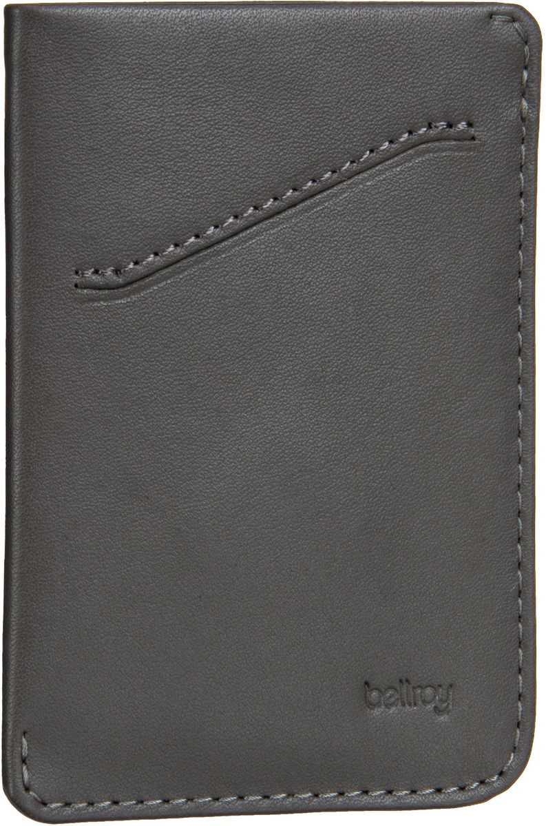 Bellroy Card Sleeve Charcoal - Kreditkartenetui - broschei