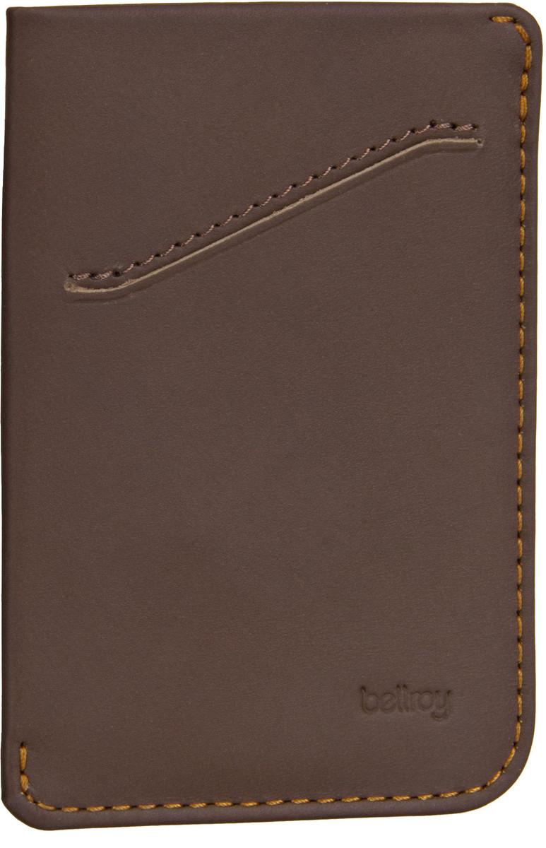 Bellroy Card Sleeve Cocoa - Kreditkartenetui - broschei