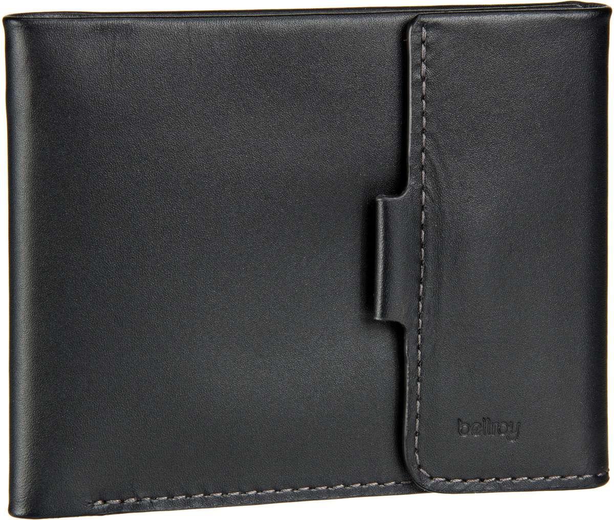 Bellroy Coin Fold Black - Geldbörse - broschei
