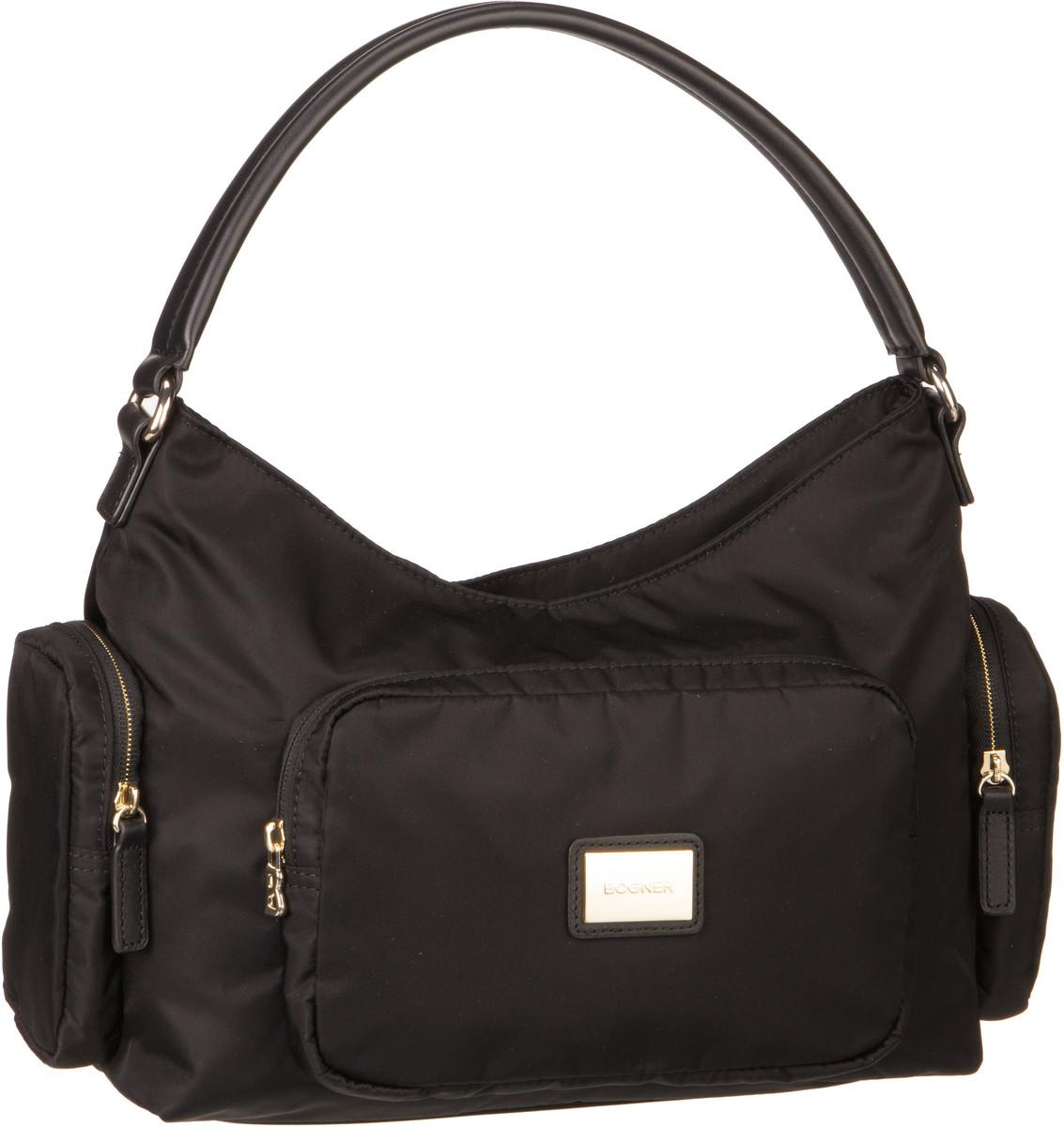 Handtaschen für Frauen - Bogner Aurum Anna Carbon Handtasche  - Onlineshop Taschenkaufhaus