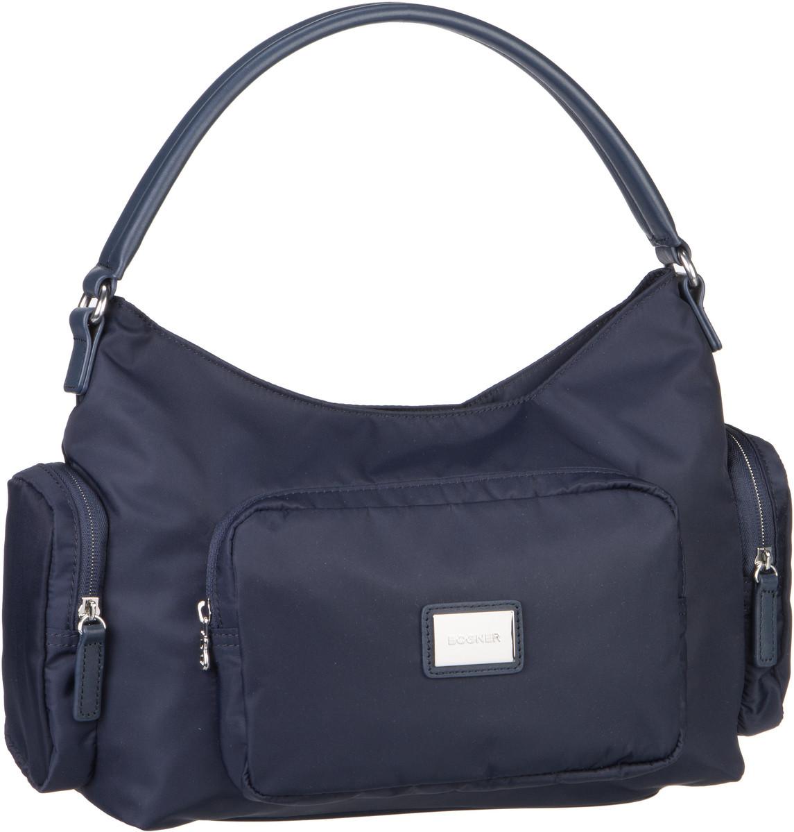 Handtaschen für Frauen - Bogner Aurum Anna Navy Handtasche  - Onlineshop Taschenkaufhaus