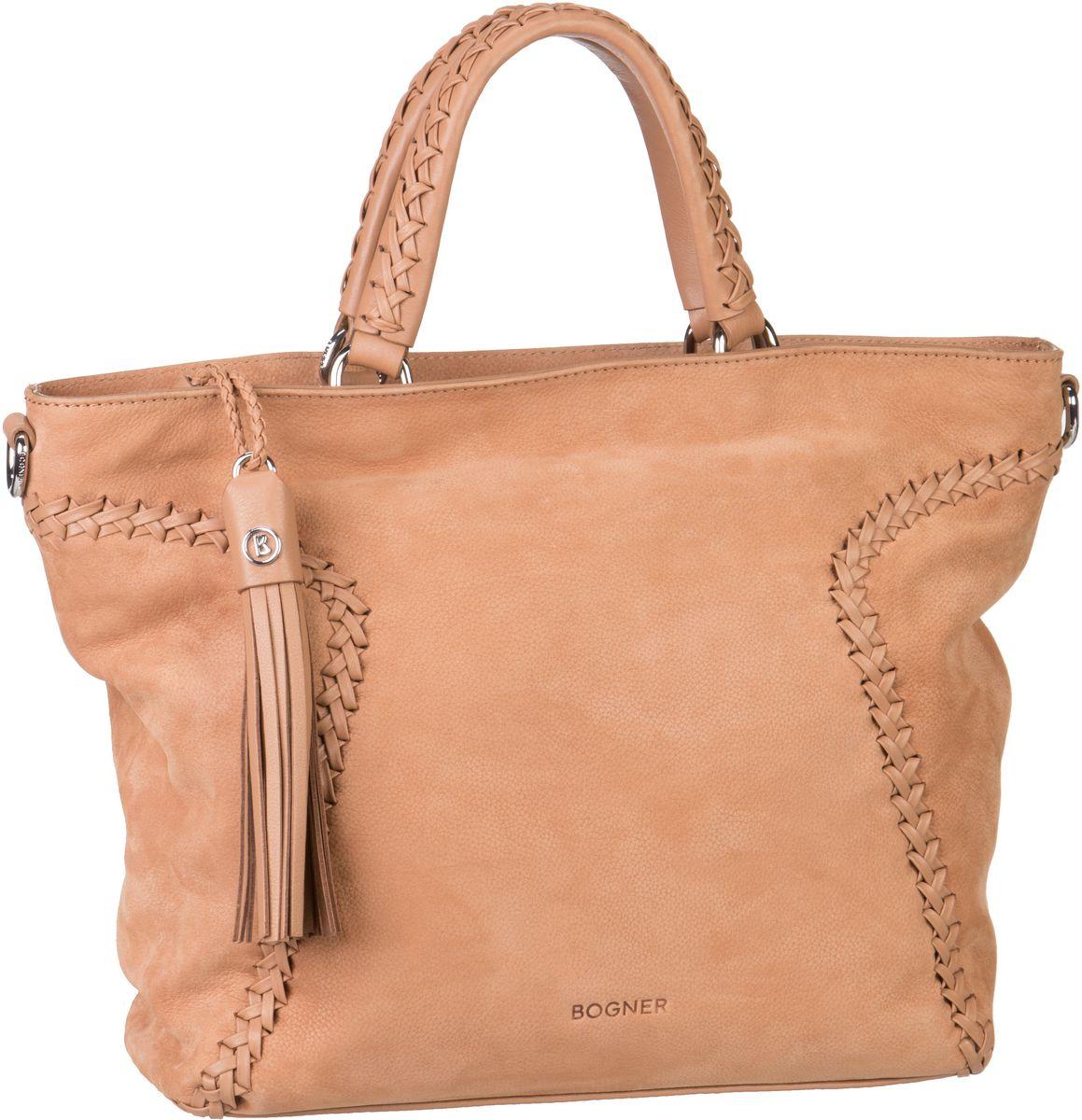 Handtaschen für Frauen - Bogner Arizona Serena Cashew Handtasche  - Onlineshop Taschenkaufhaus
