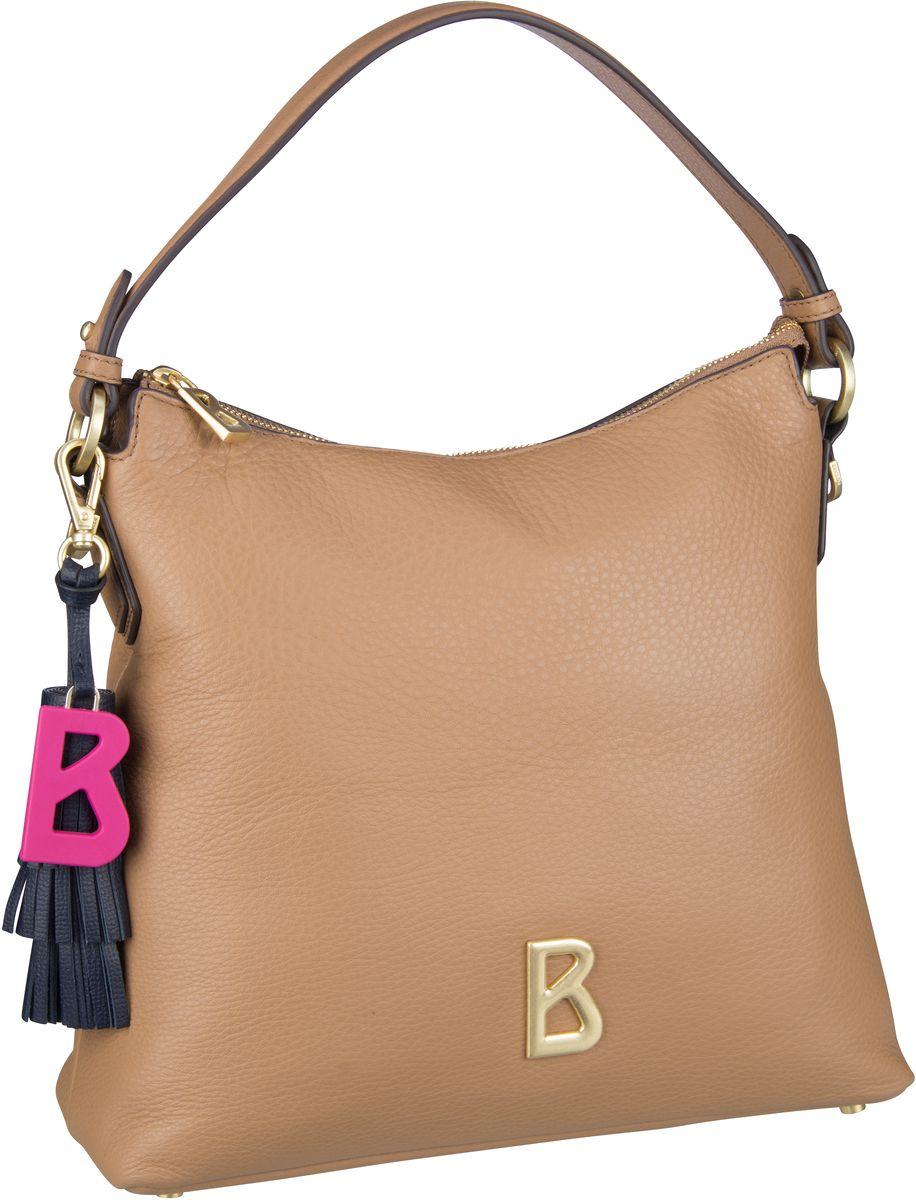 Handtasche Ladis Marie Hobo MVZ Cognac
