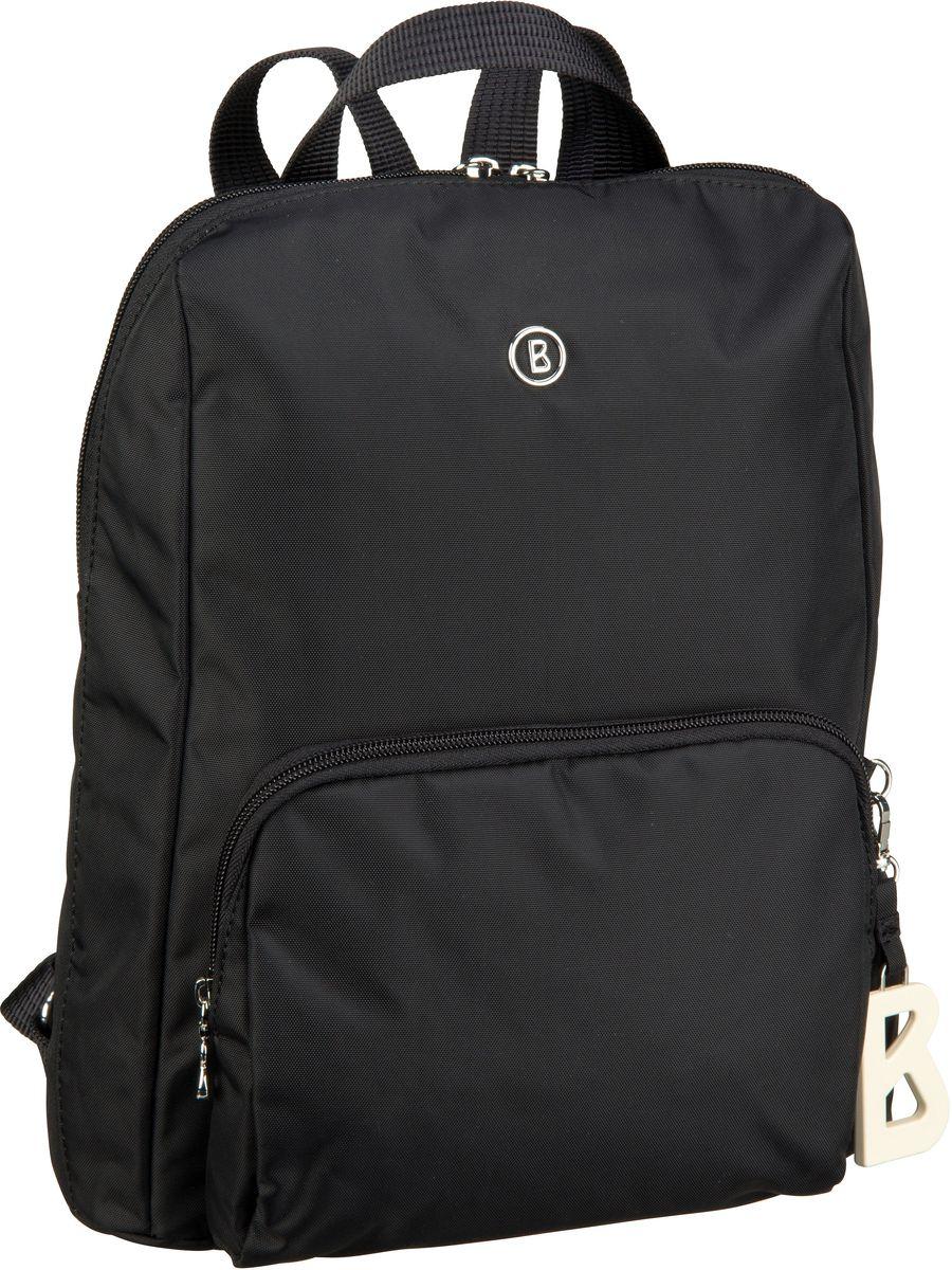 Rucksaecke - Bogner Rucksack Daypack Verbier Maxi Backpack MVZ Black  - Onlineshop Taschenkaufhaus
