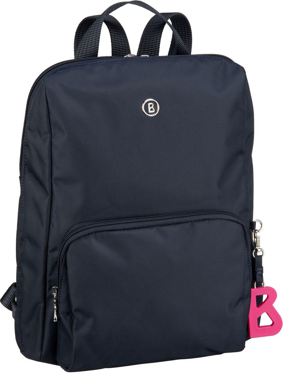 Rucksaecke für Frauen - Bogner Rucksack Daypack Verbier Maxi Backpack MVZ Dark Blue  - Onlineshop Taschenkaufhaus