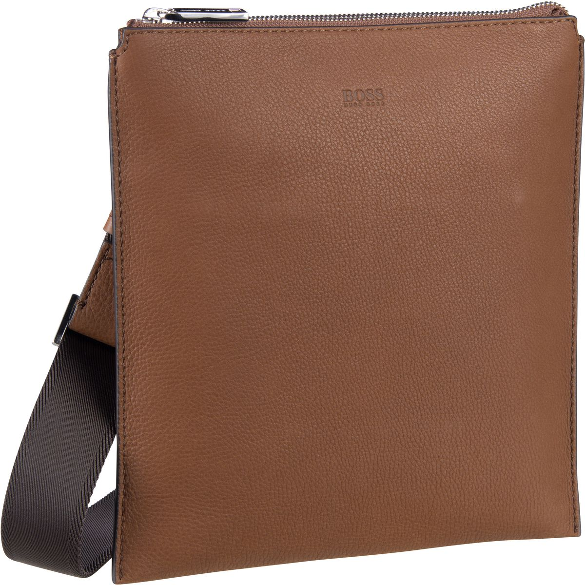 Umhängetasche Crosstown Single Zip Envelope 417043 Light/Pastel Brown