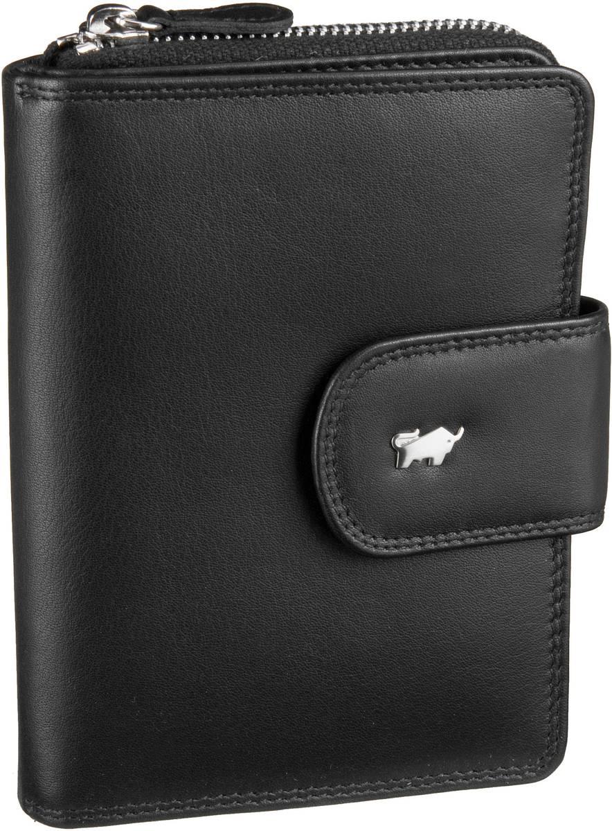 Geldboersen für Frauen - Braun Büffel Geldbörse Golf Kombibörse Schwarz  - Onlineshop Taschenkaufhaus