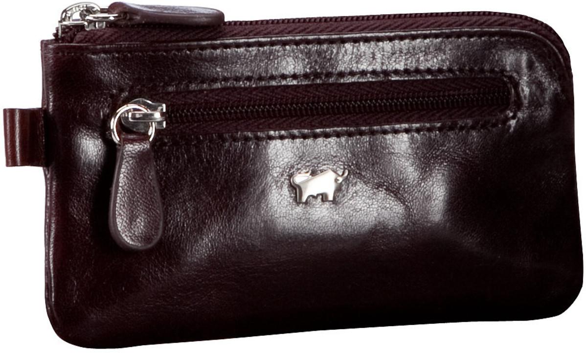 Kleinwaren - Braun Büffel Schlüsseletui Basic Gaucho Schlüsseletui Bordeaux  - Onlineshop Taschenkaufhaus