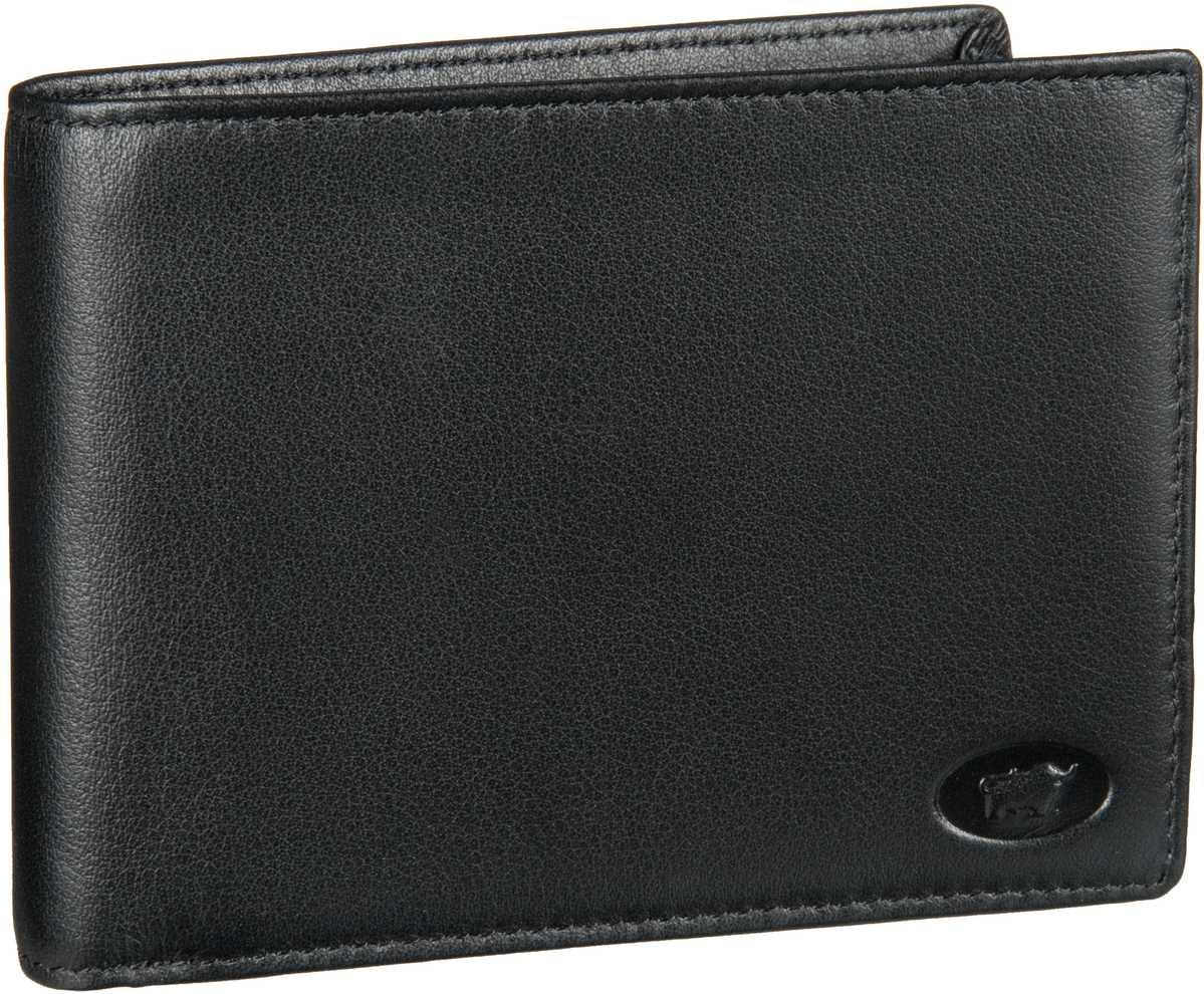 Basic Arizona Geldbörse mit 7 Kartenfächern Schwarz