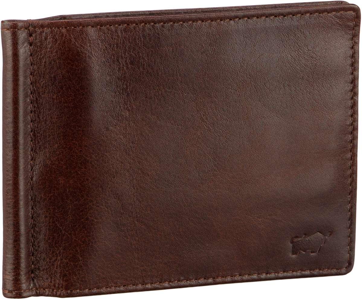 Braun Büffel Brieftasche Arezzo 81435 Dollarclip Tabak