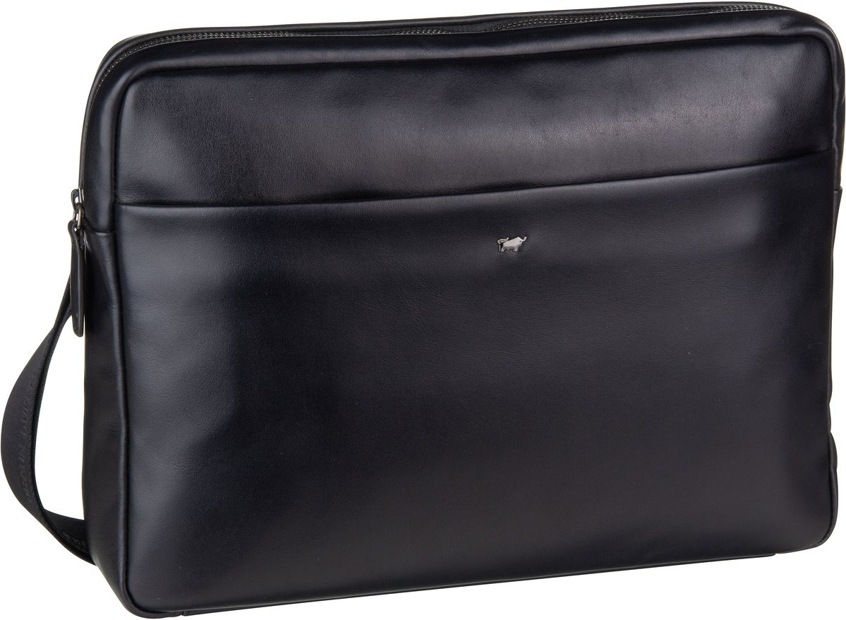 Umhängetasche Livorno 67167 Messenger Bag Schwarz