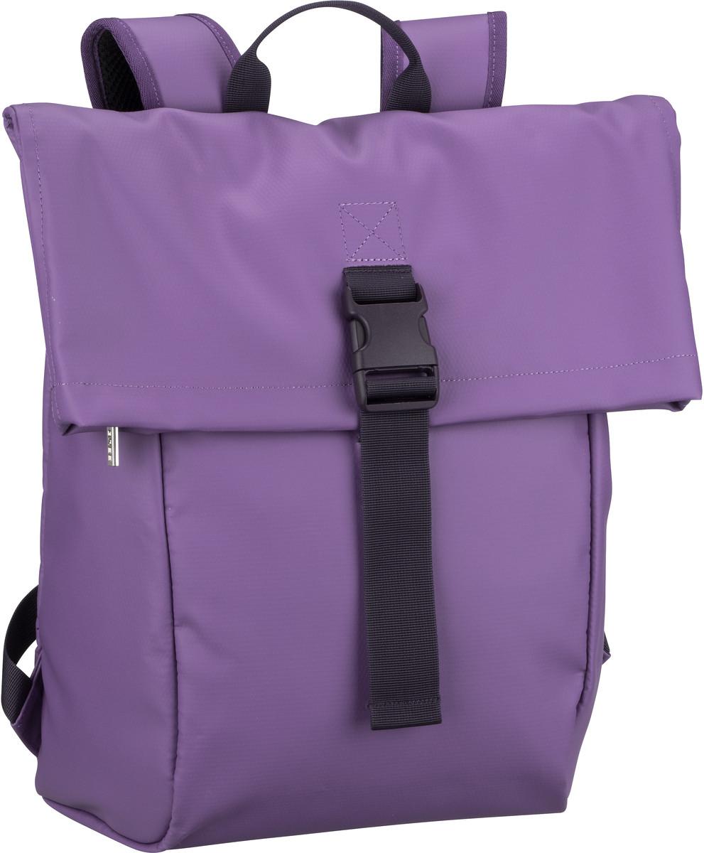 Rucksack / Daypack Punch 92 Patrician Purple (innen: Grau) (13 Liter)
