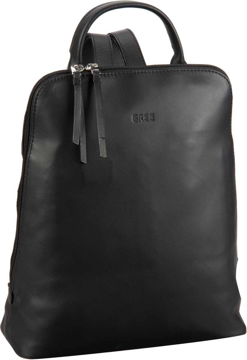 Rucksack / Daypack Toulouse 8 Black Smooth