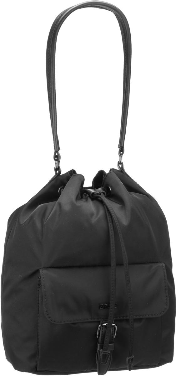 Handtasche Barcelona Nylon 15 Black