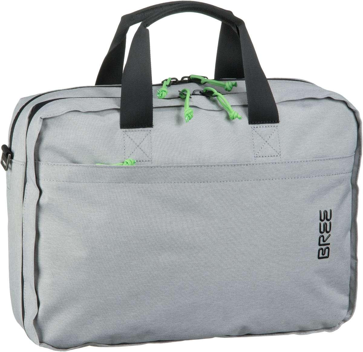 Businesstaschen für Frauen - Bree Punch Style 67 Light Grey Aktentasche  - Onlineshop Taschenkaufhaus