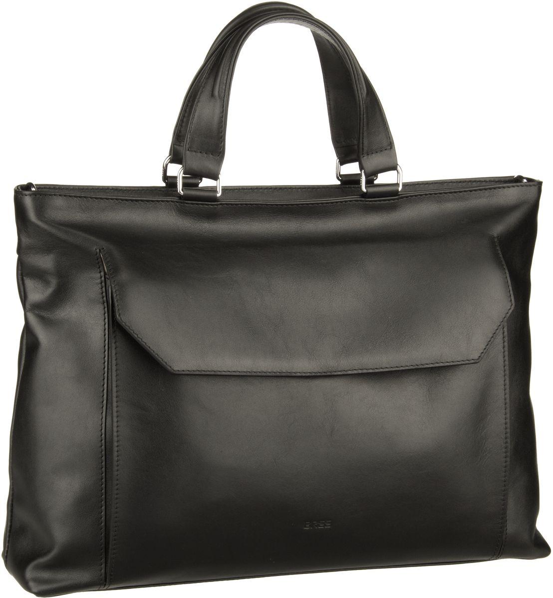Businesstaschen für Frauen - Bree Aktentasche DIE ZEIT 16 Black  - Onlineshop Taschenkaufhaus